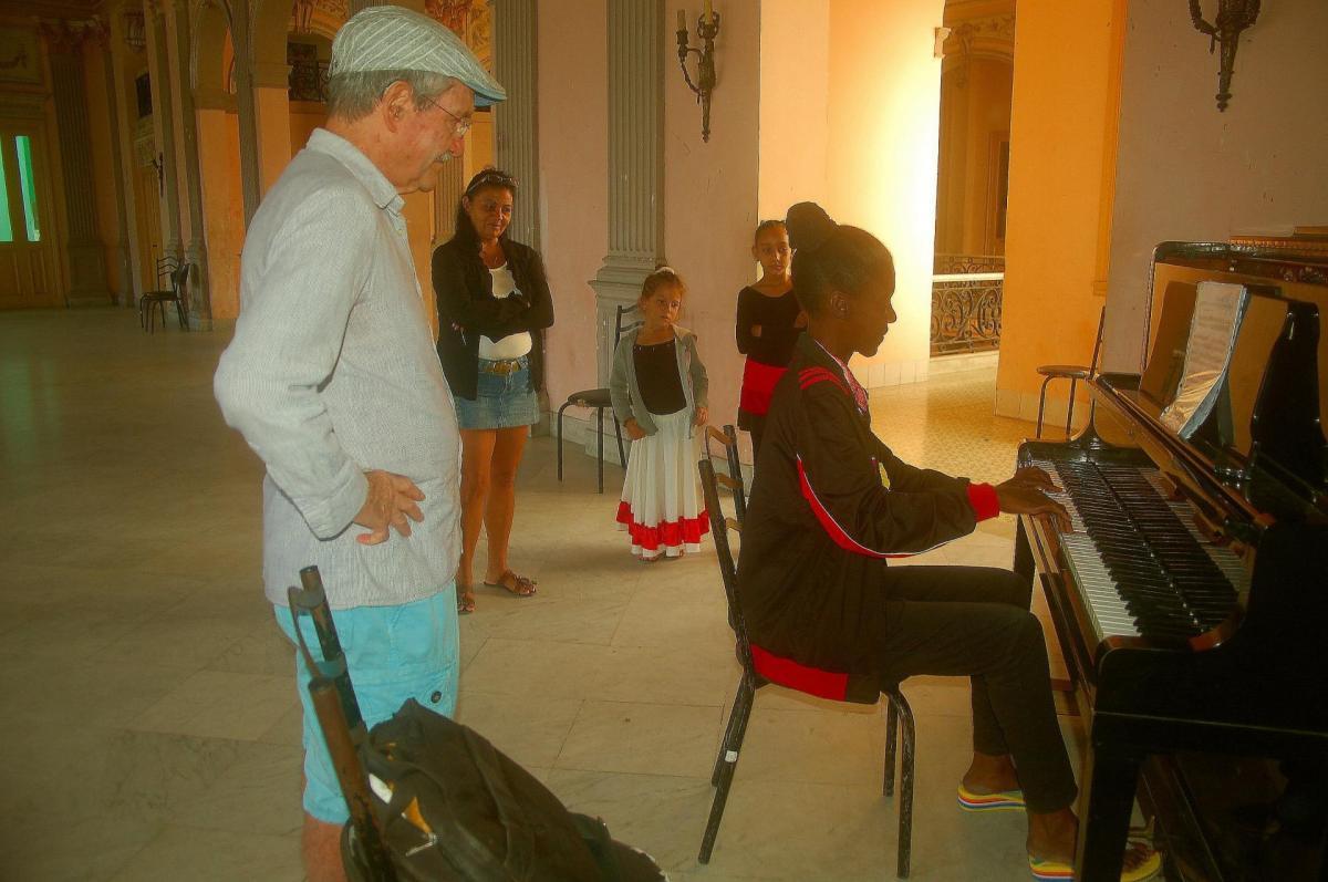 La pianiste classique