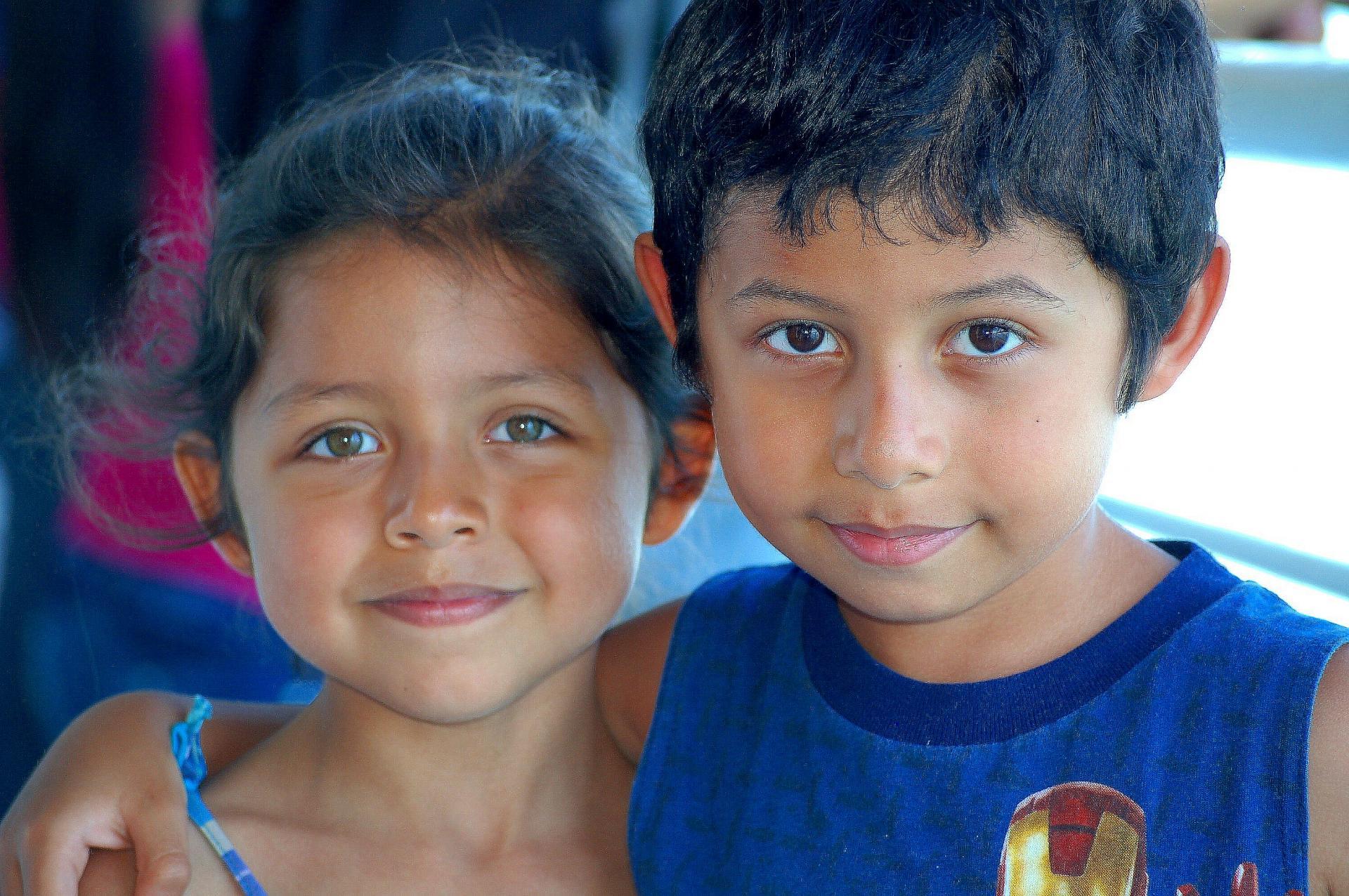 Les 2 enfants