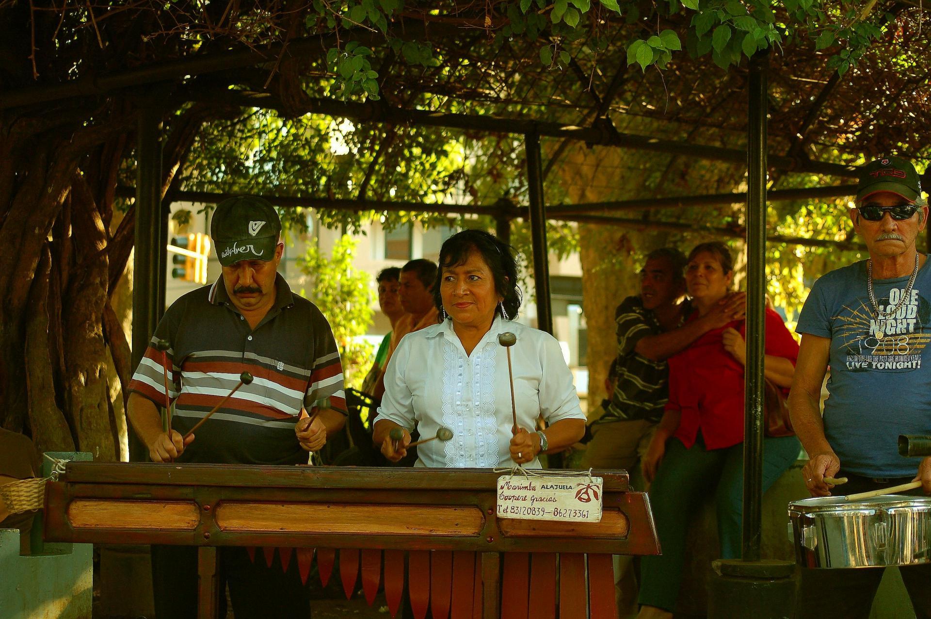 Marimba et timbales le samedi