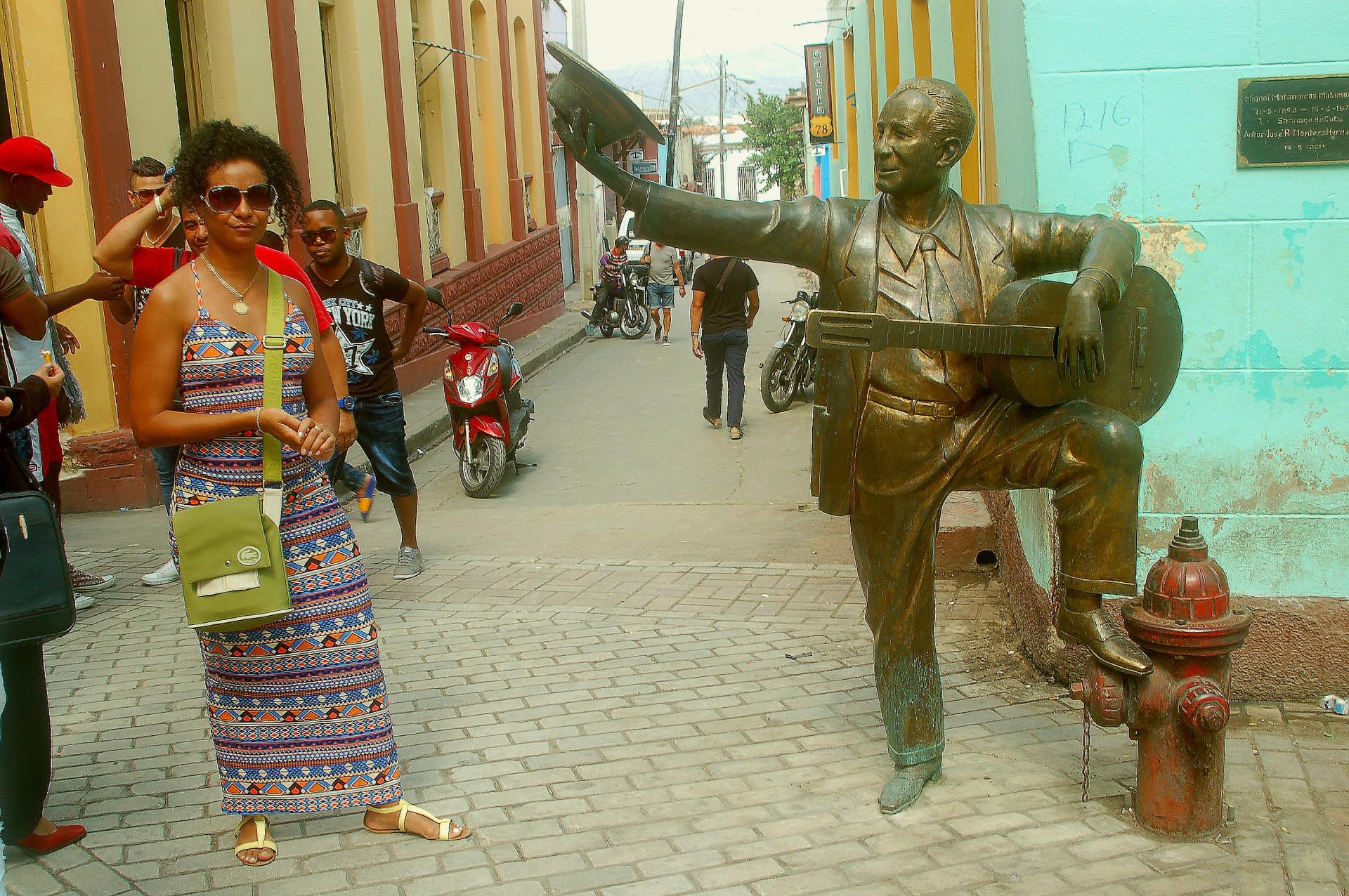 Statue de matamoros