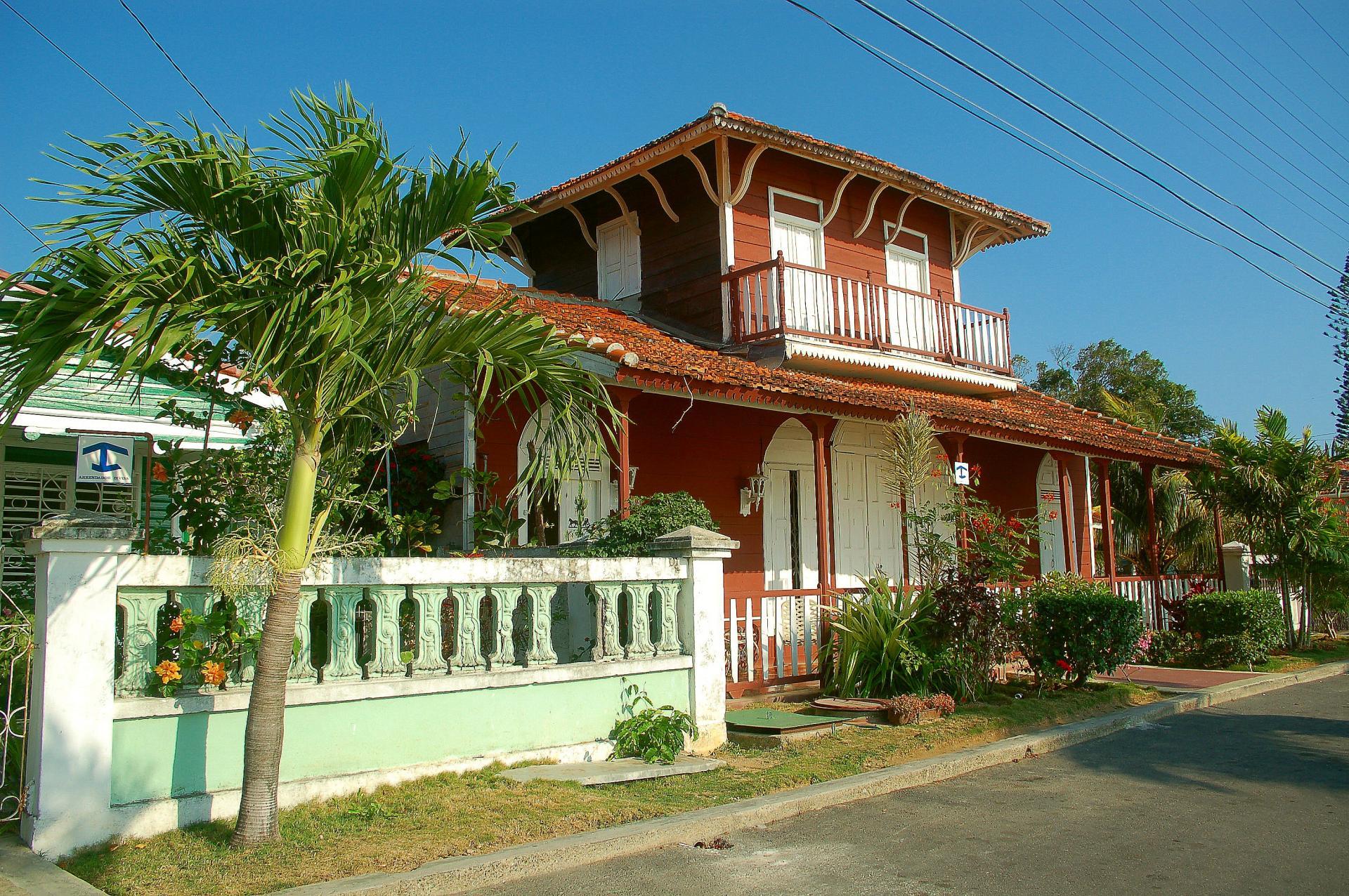 Une maison coloniale
